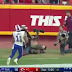 "Glitch In The Matrix: Watch NFL Player ""Float"" To His Feet After Diving For A Pass"