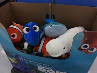 finding dory toys merchadise release bandai plush