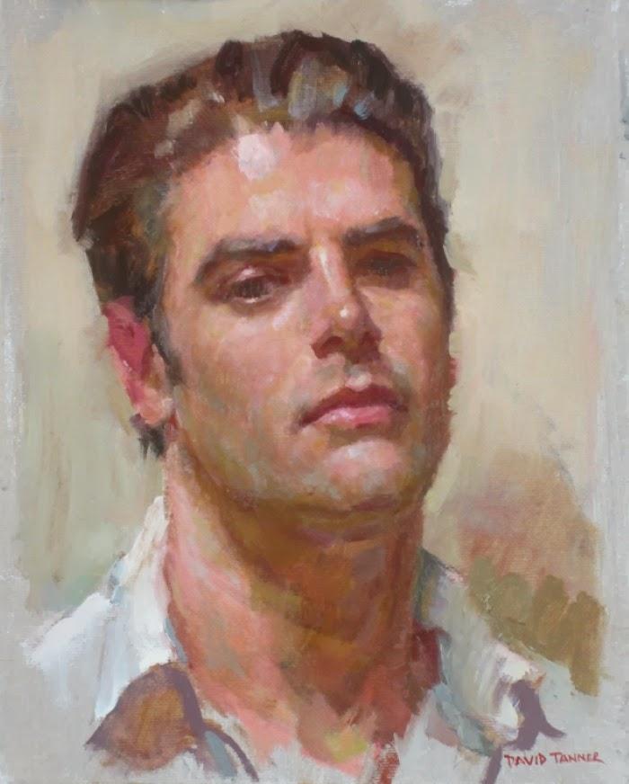 Современный американский художник. David Tanner