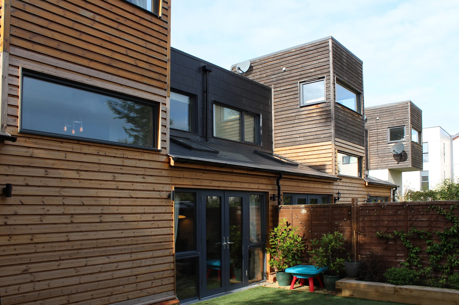Charming The Estate Is An Acclaimed Example Of Building To High Standards Of  Environmental Sustainability. As An Extension ...