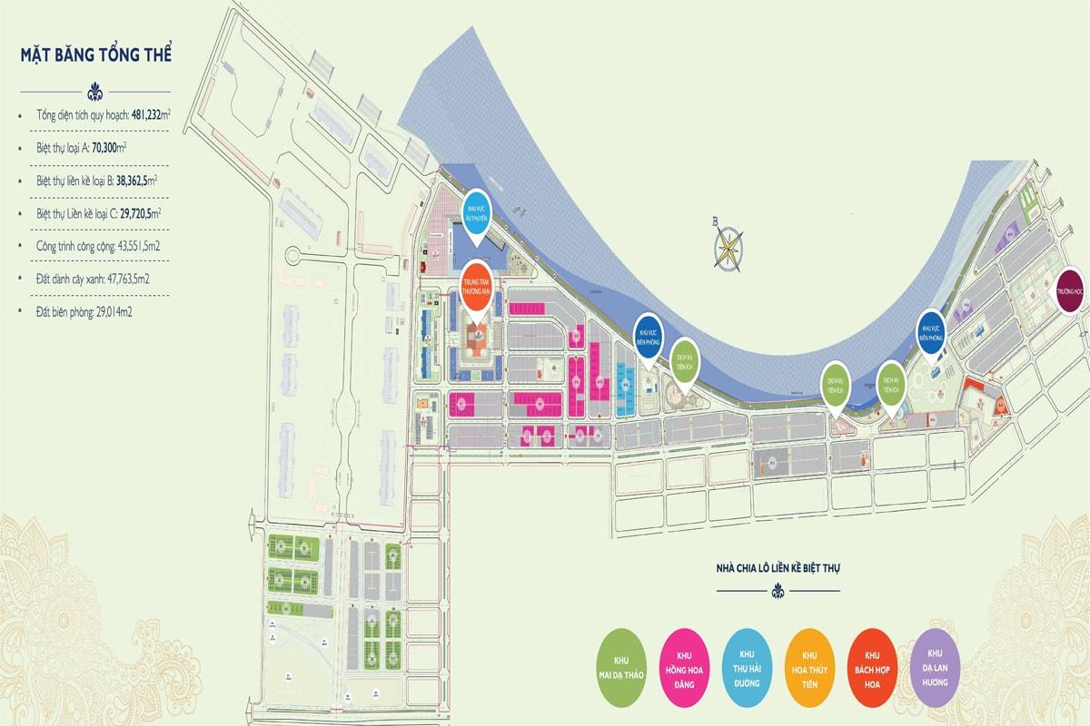 Mặt bằng dự án KaLong Riverside City