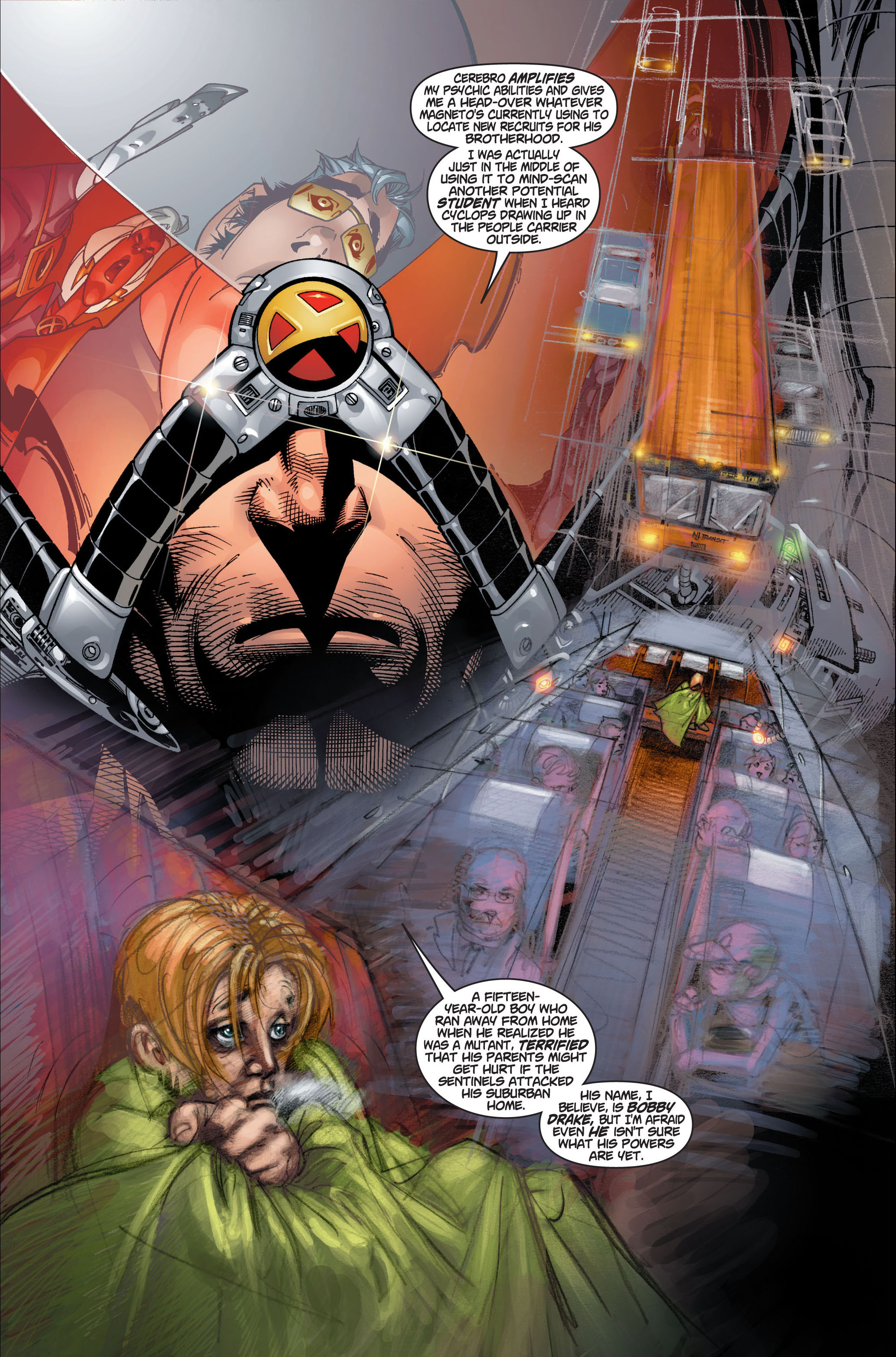 Read online Ultimate X-Men comic -  Issue #1 - 22