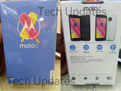 Moto C First Look & Photo Gallery