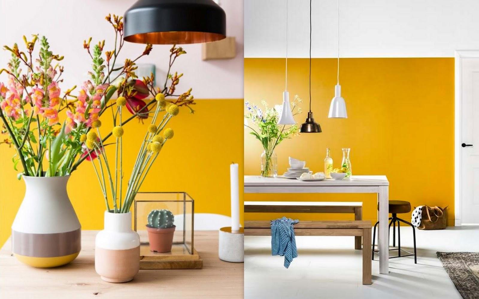 By-Evelien: Interior inspiration   Okergeel combineren in je interieur
