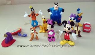 bonecos a casa do mickey