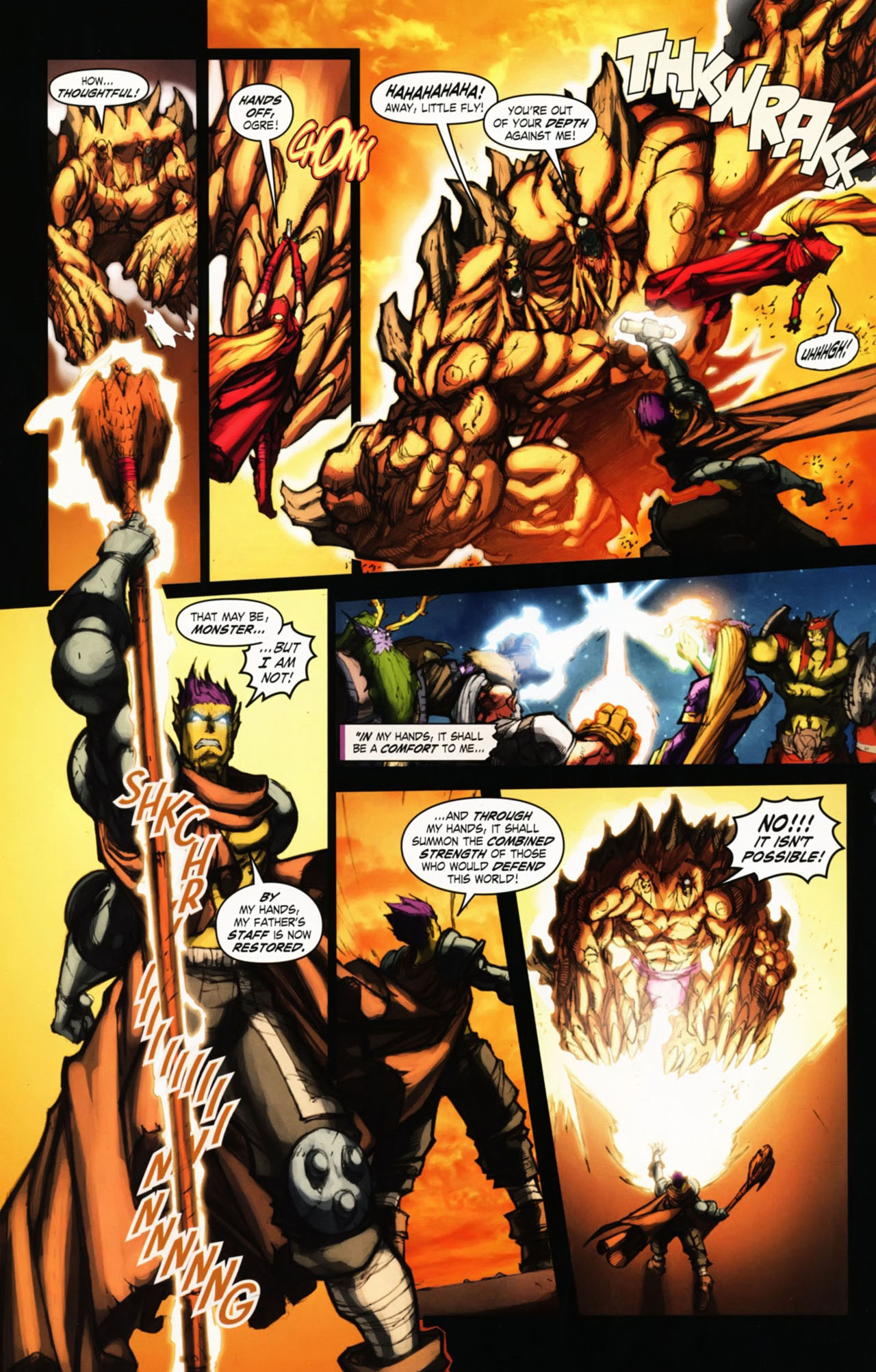 Read online World of Warcraft comic -  Issue #25 - 33