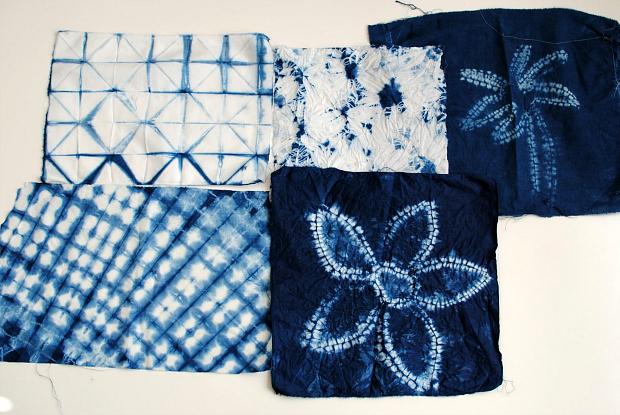 Trash To Couture: DIY: Nui Shibori with Indigo