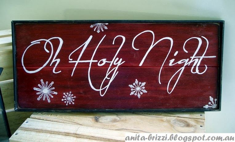 Inspired Passions Pottery Barn Christmas Sign Knockoff