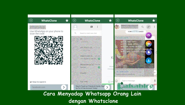 Cara Menyadap Whatsapp Orang Lain dengan WhatsClone