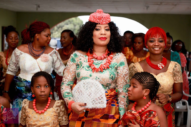 Monalisa Chinda Got Married To Victor Tonye Er In Port Harcourt Yesterday February 20th A Traditional Wedding Ceremony