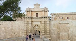 Puerta de entrada a Mdina, donde se rodó una escena de Juego de Tronos.