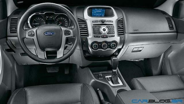 Nova ford ranger 2013 fotos pre o consumo e ficha for Painel interno f250