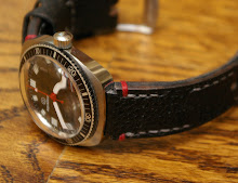 James' great Vintage Aquadive on Germany Ammo strap