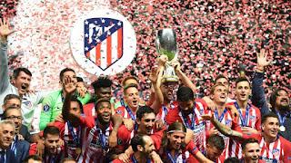 FÚTBOL - Supercopa de Europa masculina 2018: El Atlético destrona al Real Madrid y consigue su tercera Supercopa de Europa
