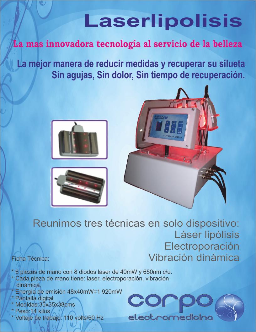 Corpo Electromedicina Laser Lipolisis Lipolaser Laser