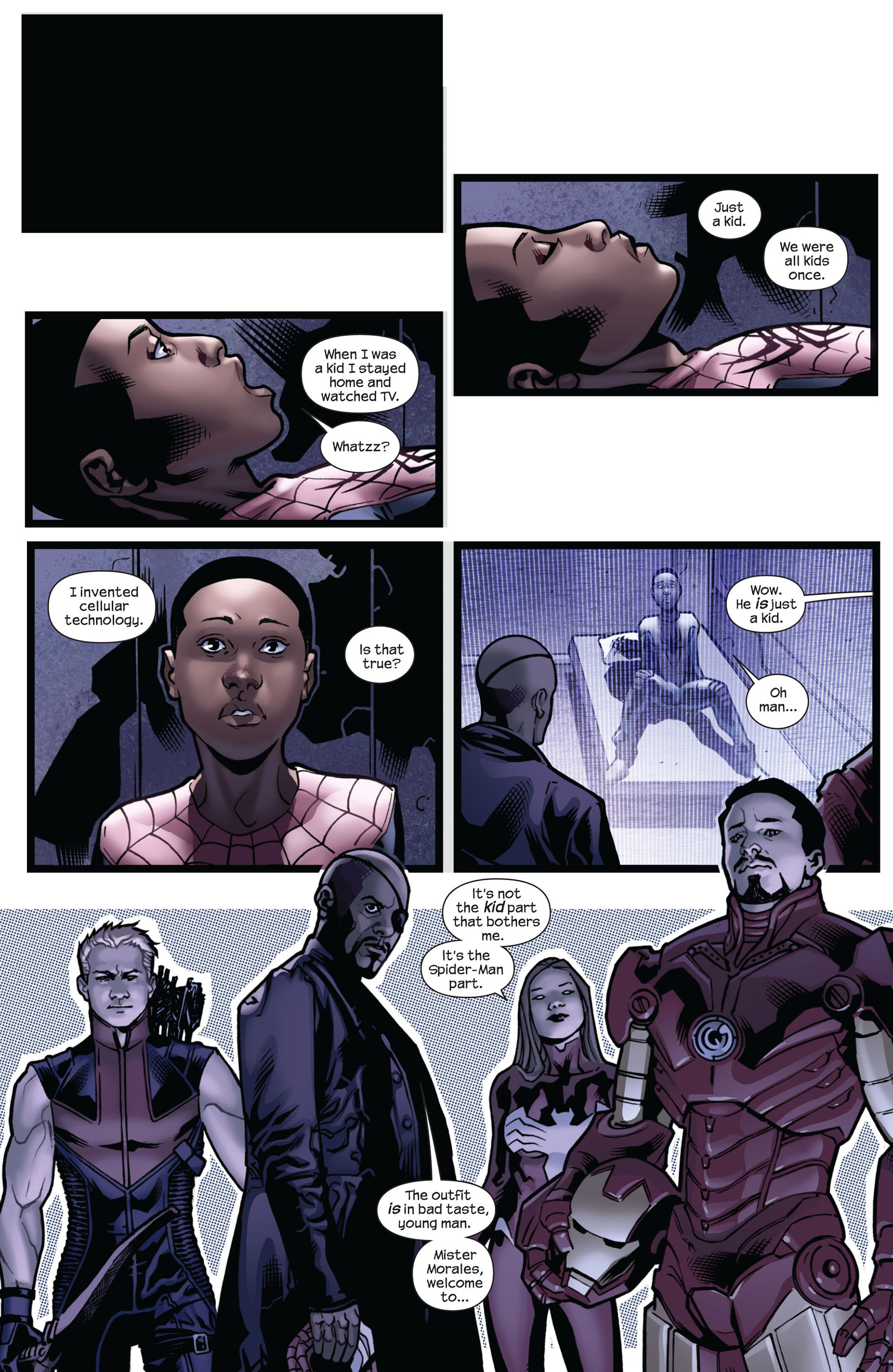 Read online Ultimate Comics Spider-Man (2011) comic -  Issue #5 - 6