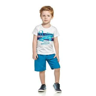 Ponta de estoque de roupa infantil para revender