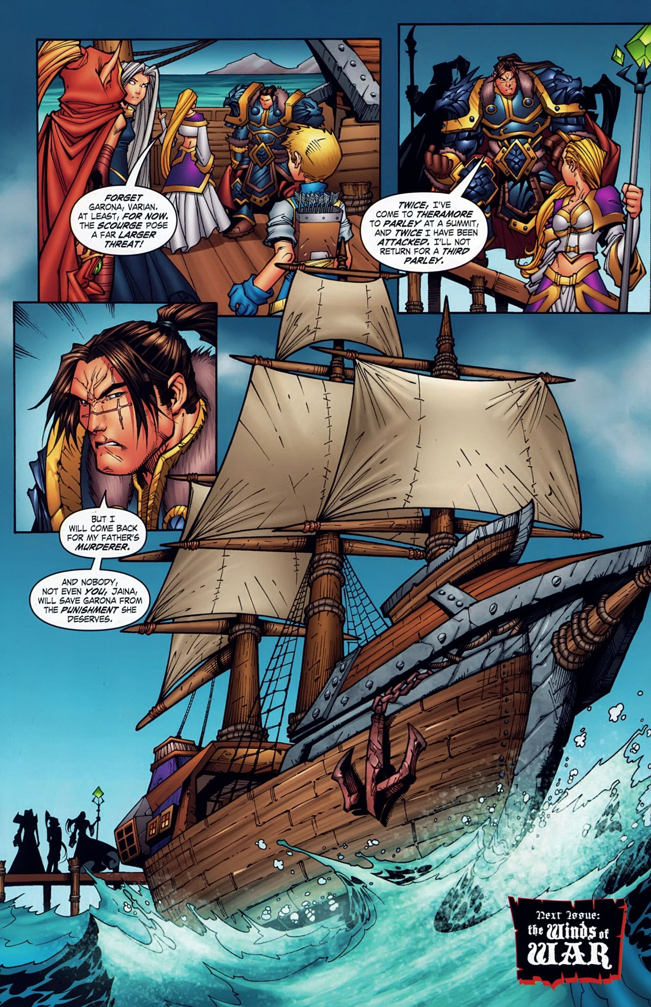 Read online World of Warcraft comic -  Issue #18 - 21