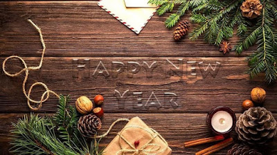 Happy New Year 2020 Greeting Wallpaper