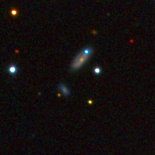 Image of SN PTF 11kx Imaged by BJ Fulton Las Cumbres Global Telescope Network