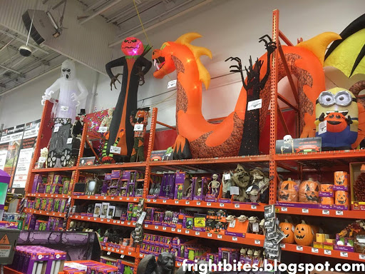 home depot had plenty of larger than life halloween decorations to fit into any theme