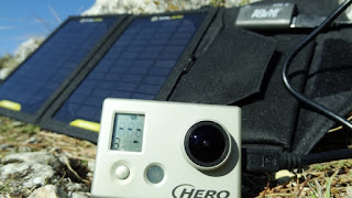Charge GoPro HD with Nomad 7 Solar Panel by Goal Zero
