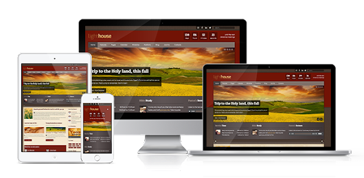 Lighthouse Responsive Joomla 3.x Template