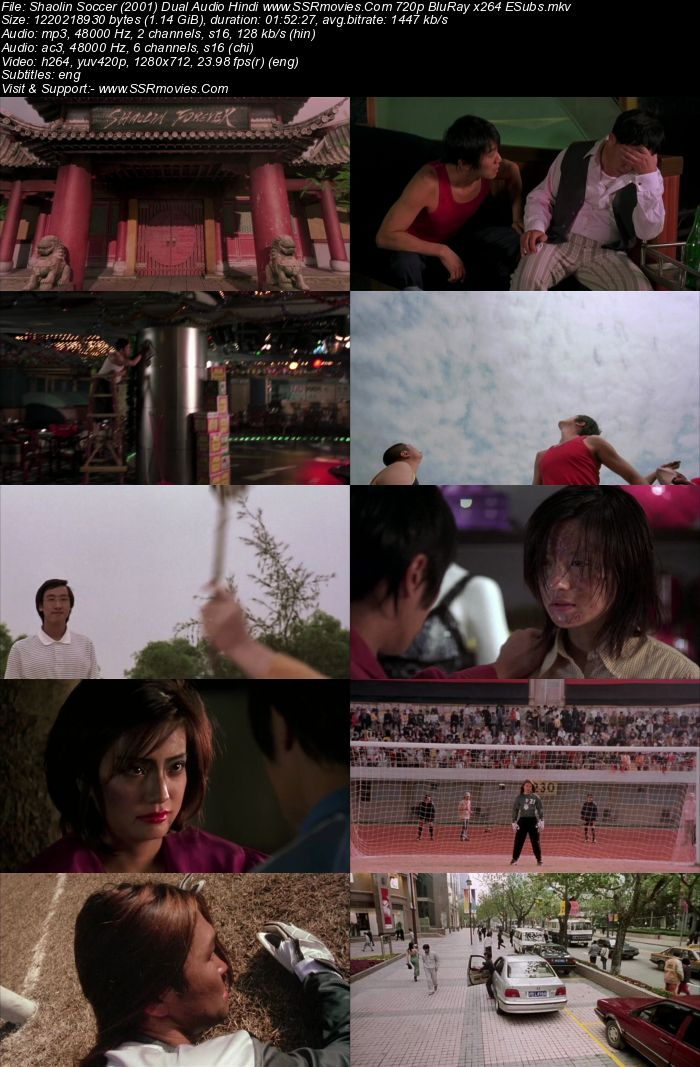 Shaolin Soccer (2001) Hindi 480p 350Mb BluRay Dual Audio Full Movie Download