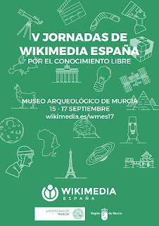 """Participación de la BUMU en las """"V Jornadas de Wikimedia España""""."""
