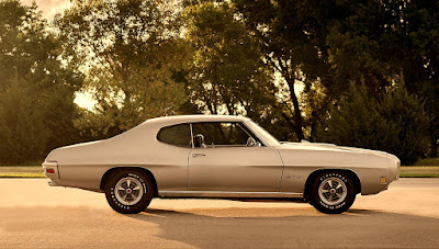 1970 Pontiac LeMans GTO Ram Air IV 400 Side Right