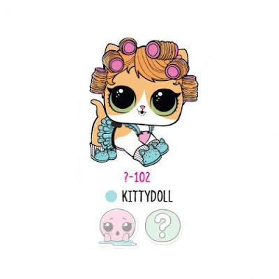 Кошка Kittydoll из коллекции LOL Surprise Pets сезон 4