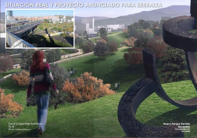Situación real y proyecto anunciado y no realizado en Serralta
