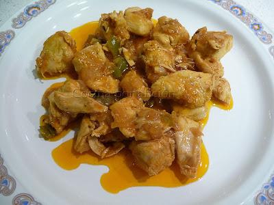 Pechugas de pollo en salsa