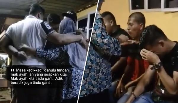 'Berlinangan air mata tengok video keluarga ni' - Netizen