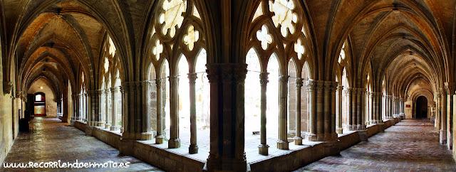 Claustro mayor monasterio de Veruela