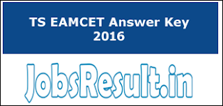 TS EAMCET Answer Key 2016