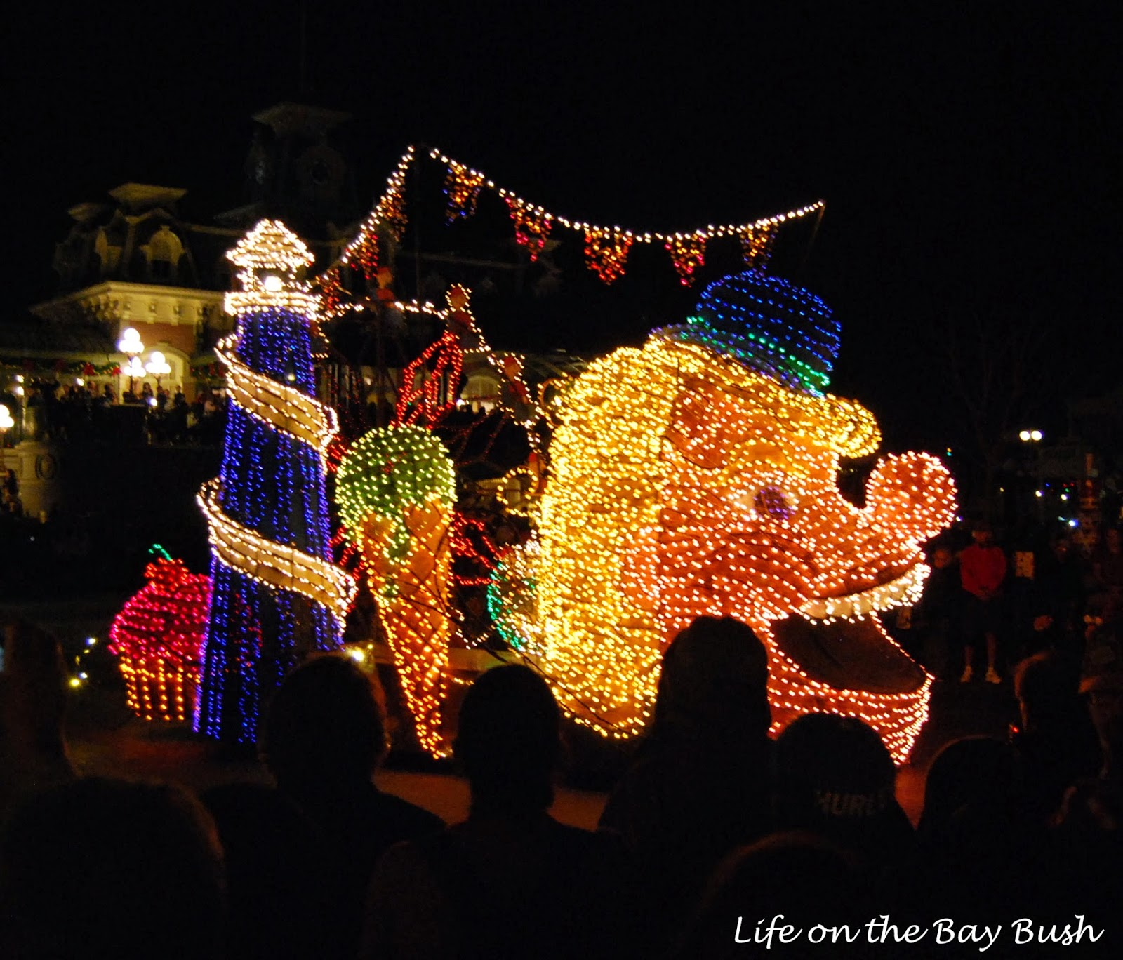 Electrical Light Parade at the Magic Kingdom