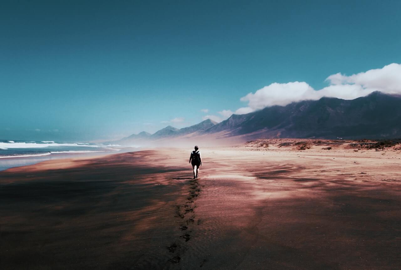 walk, alone,