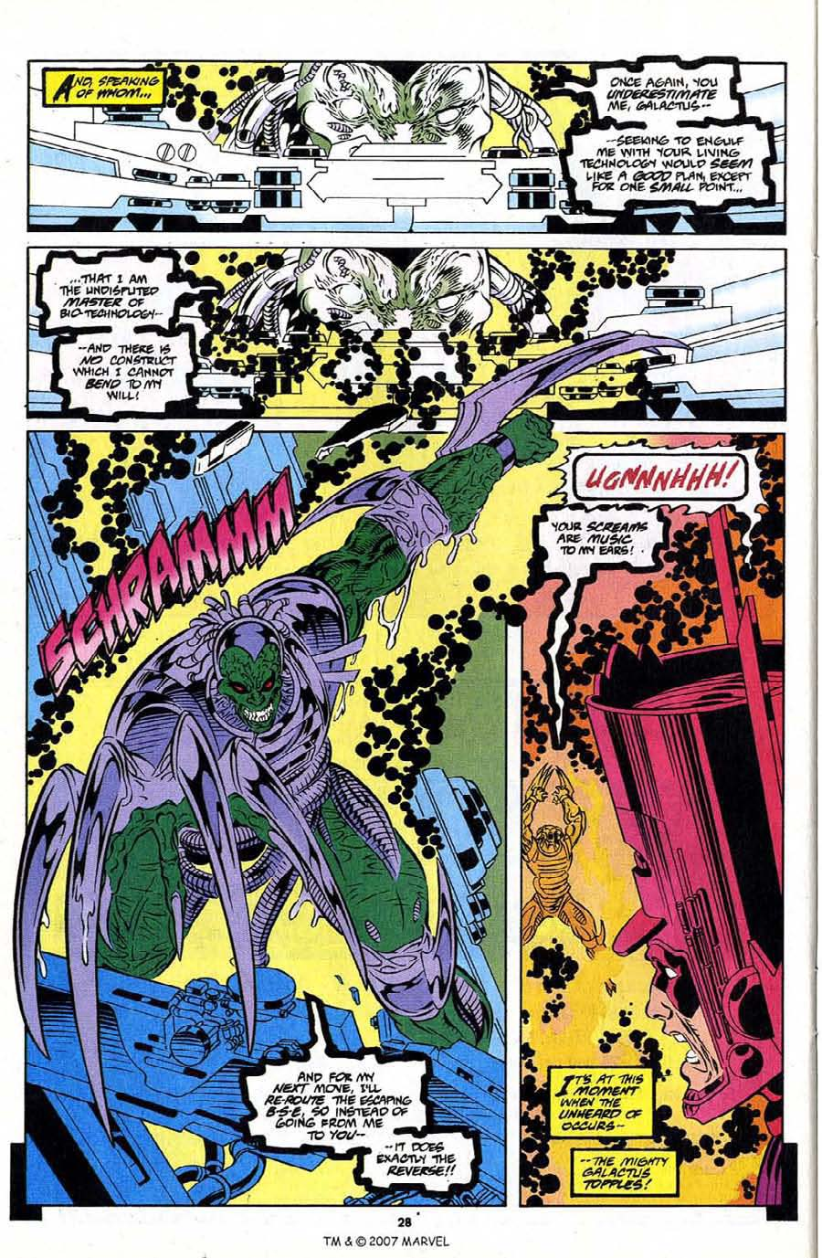 Silver Surfer (1987) Issue #108 #116 - English 30