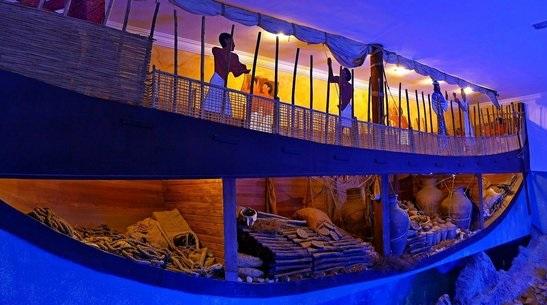 Il primo museo archeologico subacqueo al mondo si trova a Bodrum, in Turchia