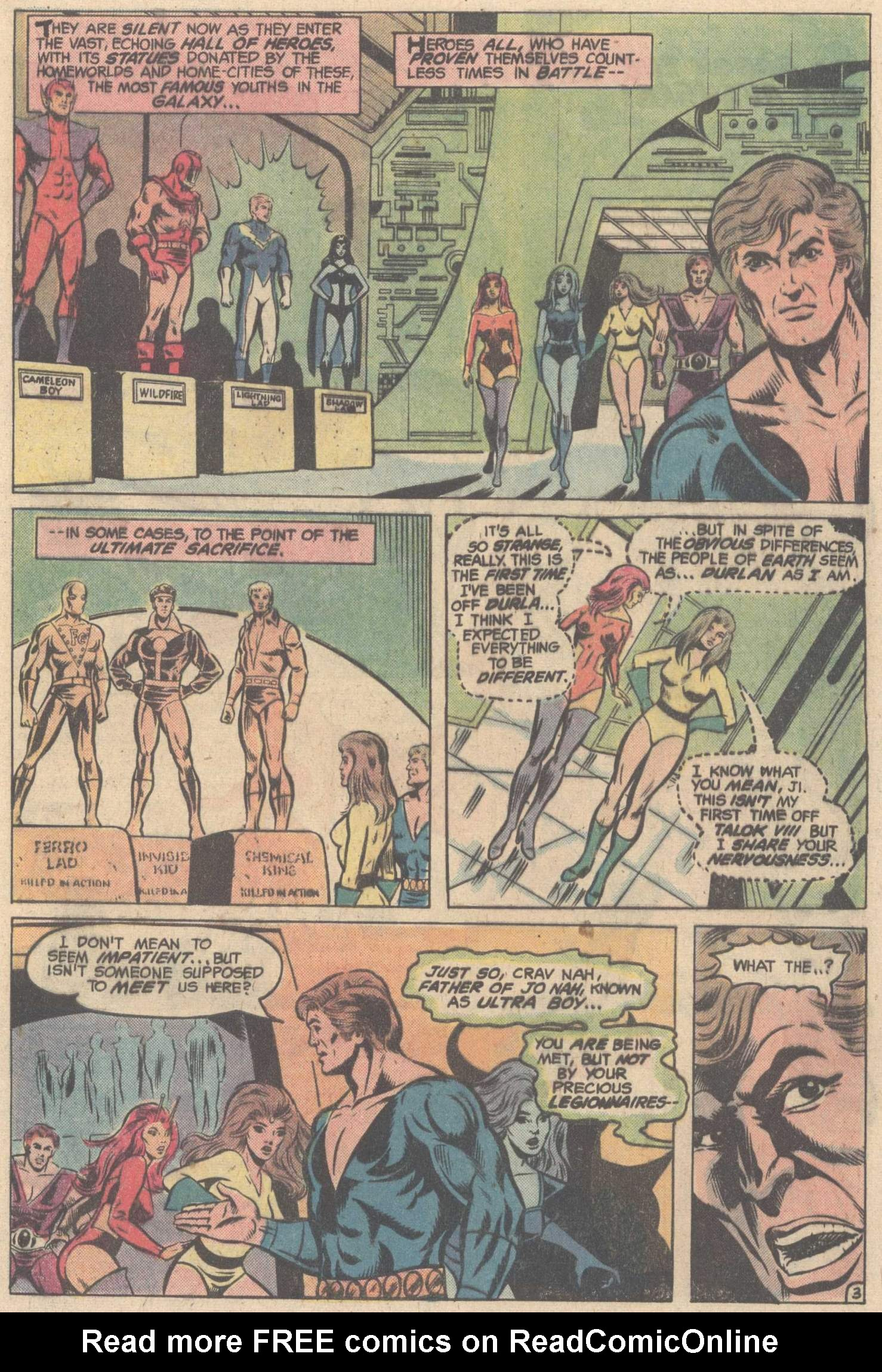Legion of Super-Heroes (1980) 263 Page 4