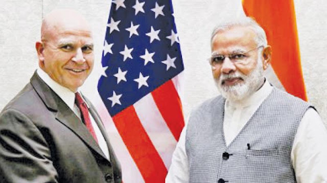 NEWS | U.S. NSA met Indian Prime Minister Narendra Modi and Officials