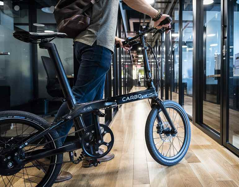 folding e-bike Carbo
