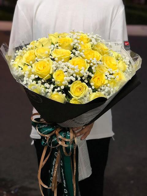 Bó hoa hồng tặng người yêu đẹp nhất thế giới