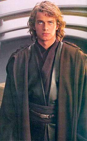 Foto de Anakin Skywalker de Star Wars de joven