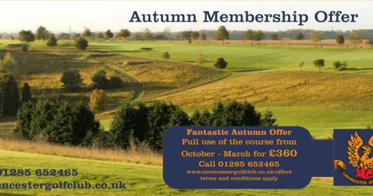 Cirencester Golf Club Autumn Golf Offers At Cirencester