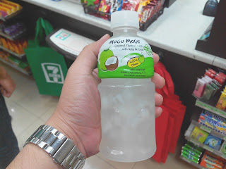 1. Not too sweet  For the past weeks, I've been finding myself reaching out for coconut Mogu Mogu whenever I visit convenience stores. I even get the 1 liter size from time to time.   The reason why this is fast becoming my most favorite drink of all time? It's not too sweet.   Mogu Mogu claims that there is real coconut juice inside the bottle. Perhaps it's one of the contributing factors why the flavor is great with just the right amount of sweetness.   Some people go for healthier drinks nowadays and no wonder, like me, they are going for the coconut flavor too – though all of Mogu Mogu flavors are good!  2. Yummy nata de coco  Aside from the fact that nata de coco is healthy, it's also very yummy.   I am just so glad that nature has a way of giving us yummy and chewy desserts so that we don't always choose the high fat, high sugar and high calorie ones.   3. Cutest packaging  Unarguably, Mogu Mogu has one of the cutest and the most eye-catching packaging among all those that are in the shelves.   I realized packaging must be unique too so that it's easier to find.  4. Super refreshing when cold  A cold coconut Mogu Mogu is one of the best things in the world. Really, next to water, it's what I search for whenever I feel thirsty.