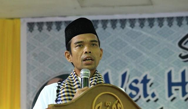 UAS: Sosok Pemimpin Harus Jadi Imam Shalat Jamaah