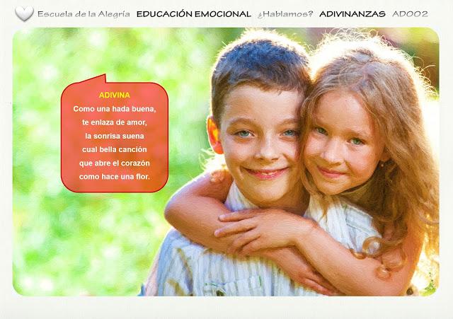 Colección Adivinanzas: el abrazo.