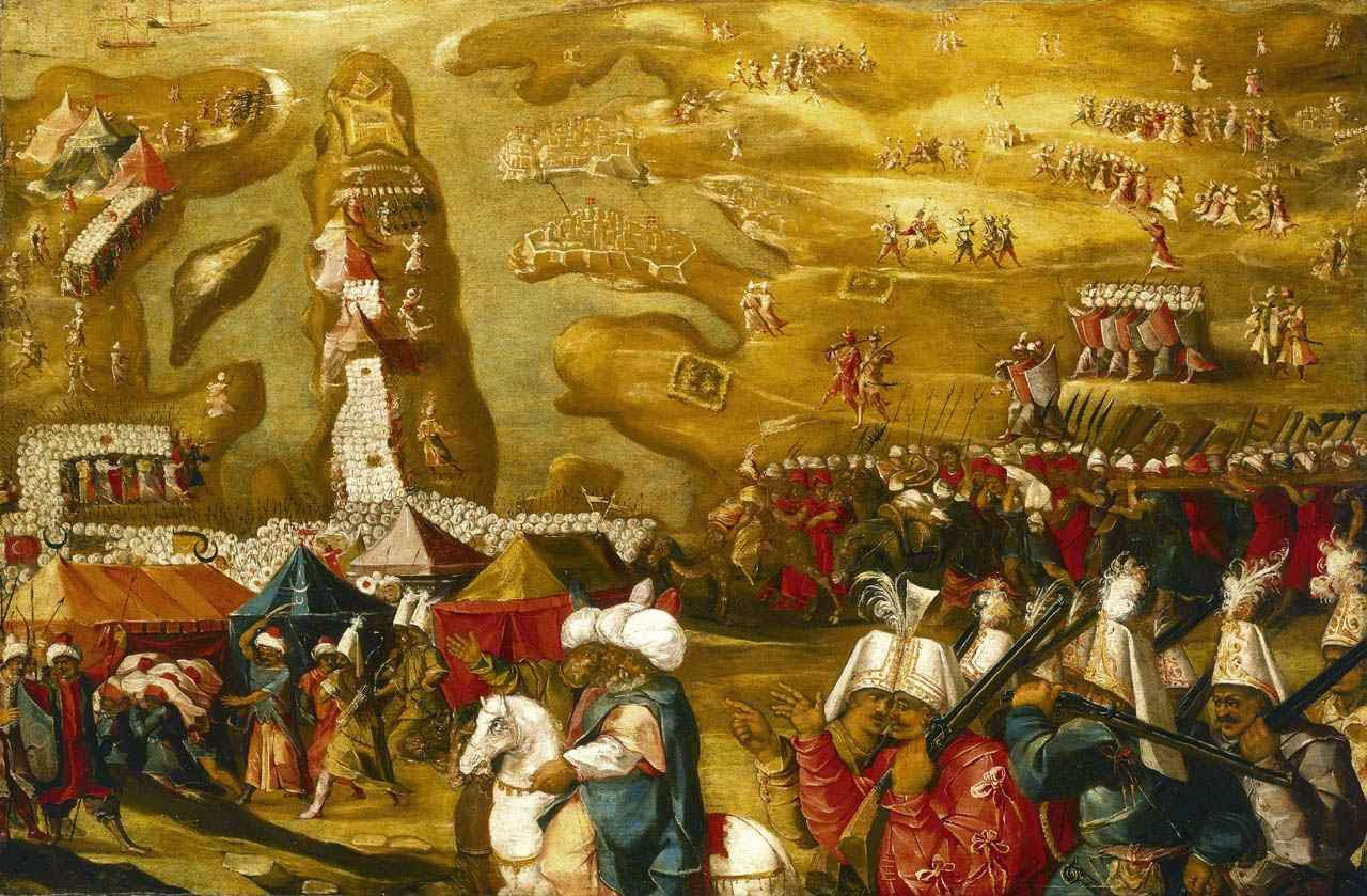Grande Cerco de Malta, avanços muçulmanos.